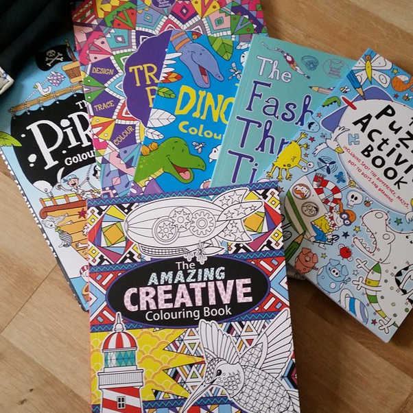 Summer Time Activity Books