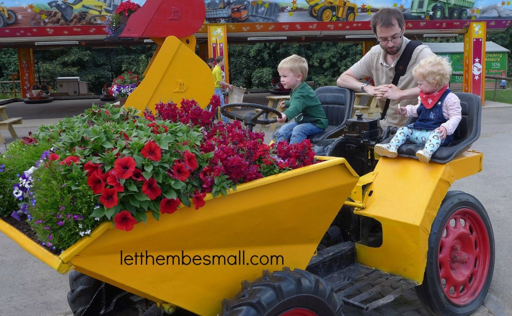 A Day out to Diggerland Yorkshire