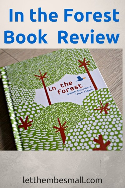In the Forest is a fabulous book which sensitively explores issues of deforestation