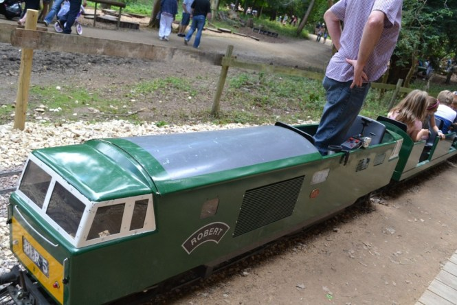 Belton house train