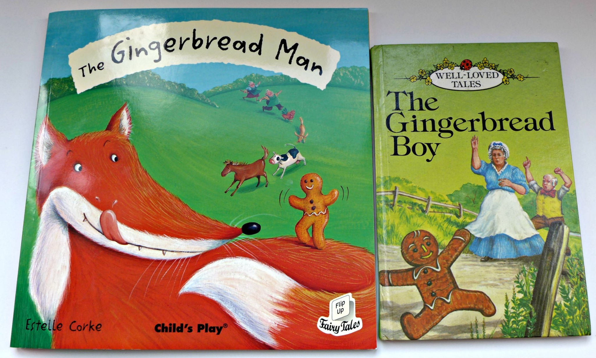 Classic Fairy Tales for Toddlers - Then and now