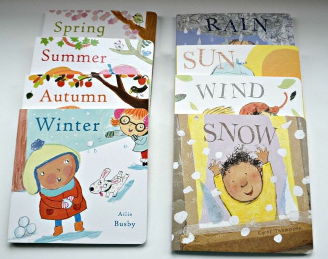 Weather toddler learning
