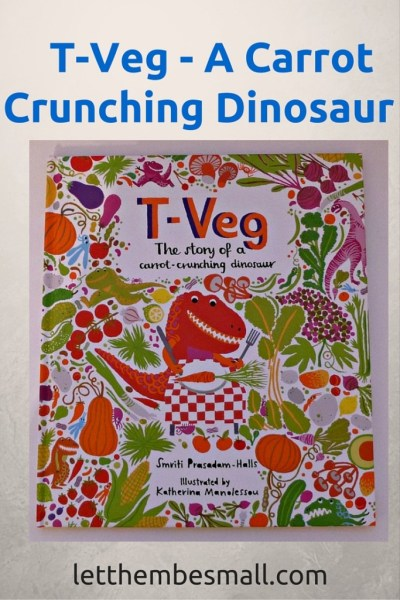 t-veg is a great book to introduce ideas of difference. An explosion of colour