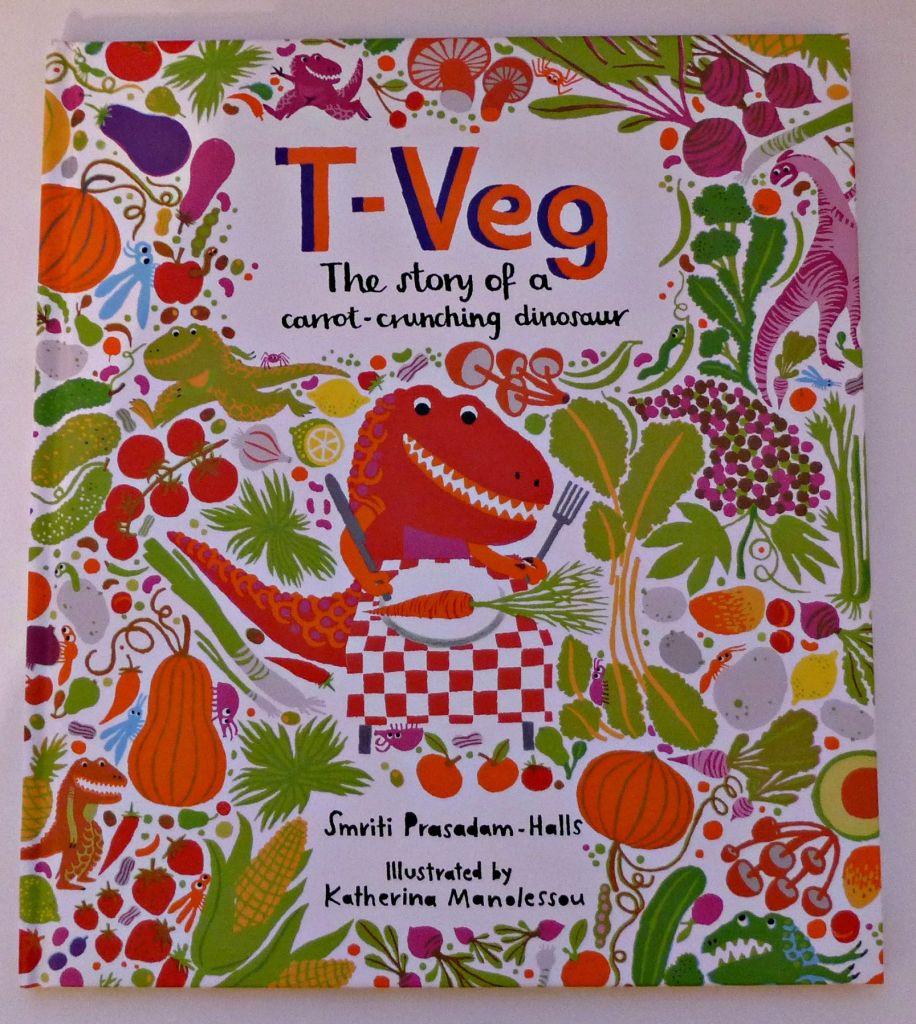 T-Veg – a Carrot Crunching Dinosaur