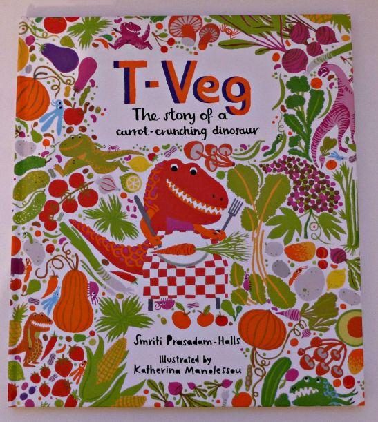 T-Veg carrot crunching dinsoaur