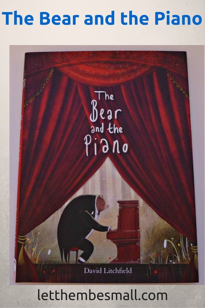 The bear and the Piano by David Litchfield is an award winning books. Stunning illustrations and thought provoking story offers a wealth of learning opportunities for pre school and KS1 children
