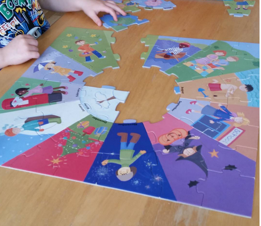 ELC seasons jigsaw