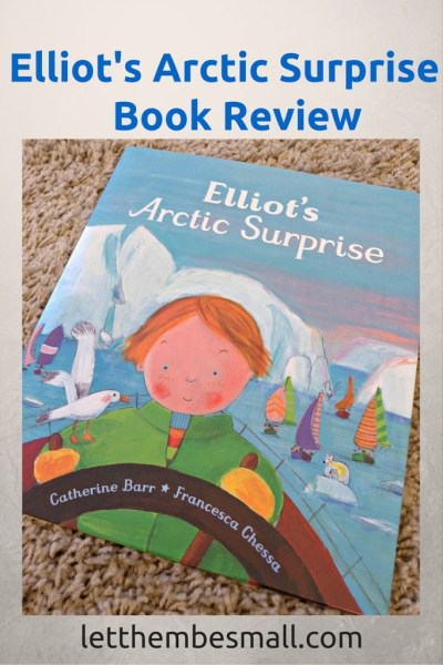 Elliot's Arctic surprise is a great book for introducting ideas around conservation and the impact of oil exploration to young children