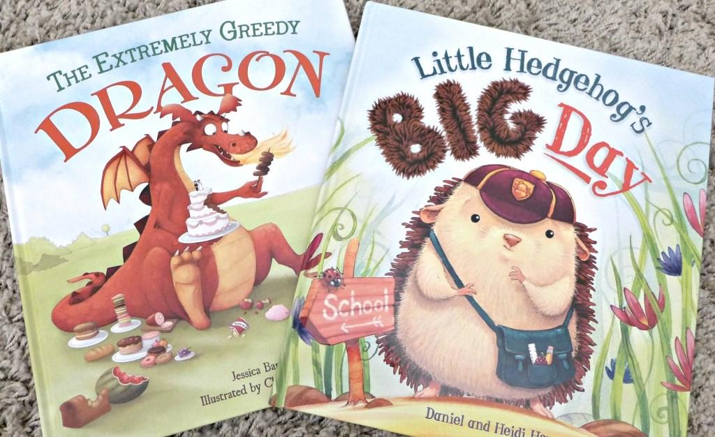 A Little Hedgehog & a Greedy Dragon