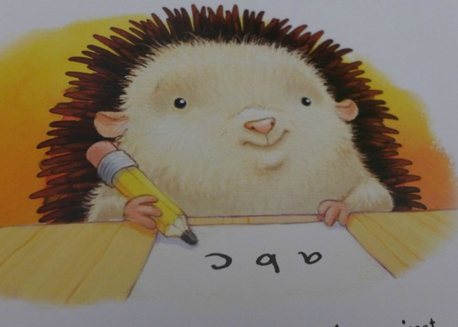 little hedgehog Big Day Book