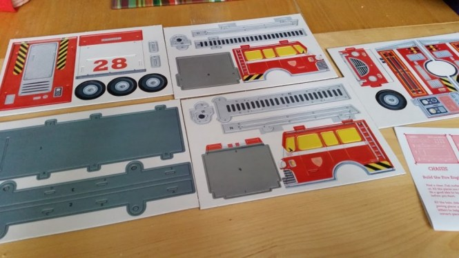 Junior Builders fire Engine
