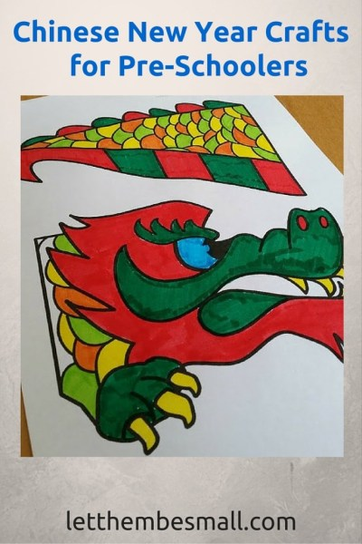Chinese New year Crafts for preschoolers