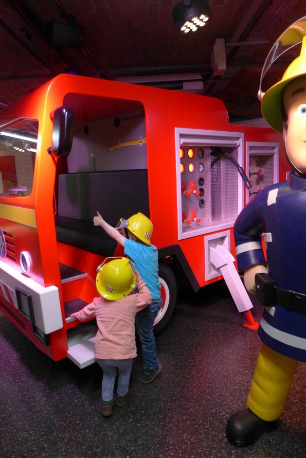 Mattel Play Liverpool fireman sam