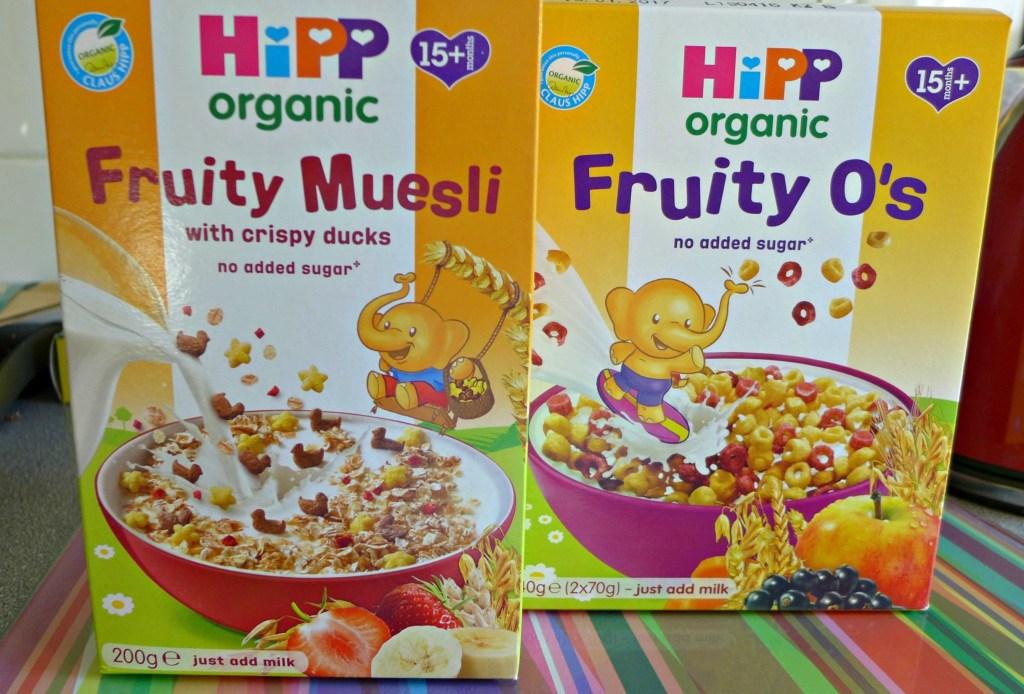 HIPP Organic Breakfast Range