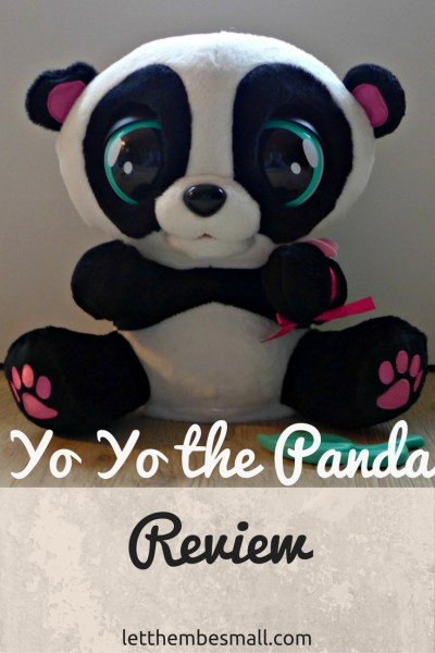 yo yo the panda is an interactive toy for young children - review here