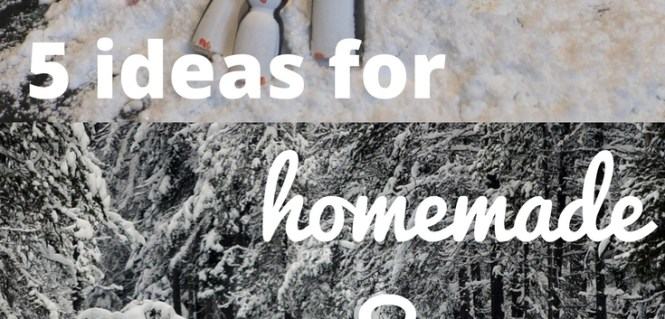 Five ideas for home made snow