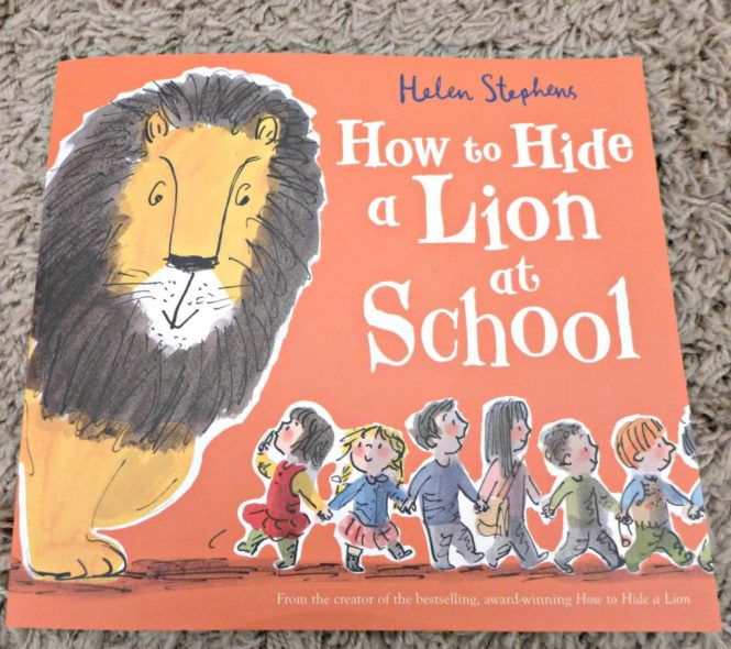 How to Hide a Lion at school review and activities