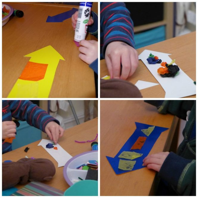 quick and easy rocket craft for pre schoolers