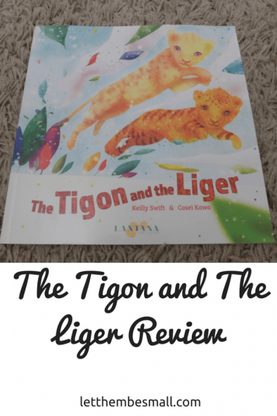 the tigon and the liger helps children to understand and celebrate difference