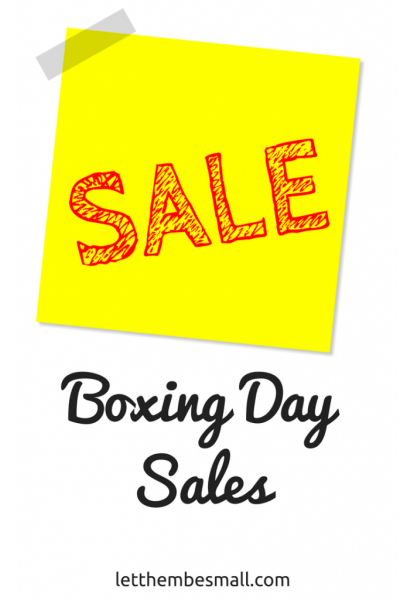 The Boxing Day sales are a time to grab a bargain or two