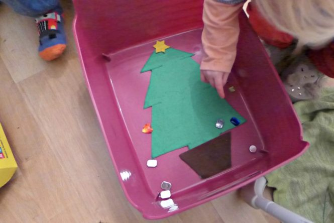 christmas tree maths game for pre schoolers