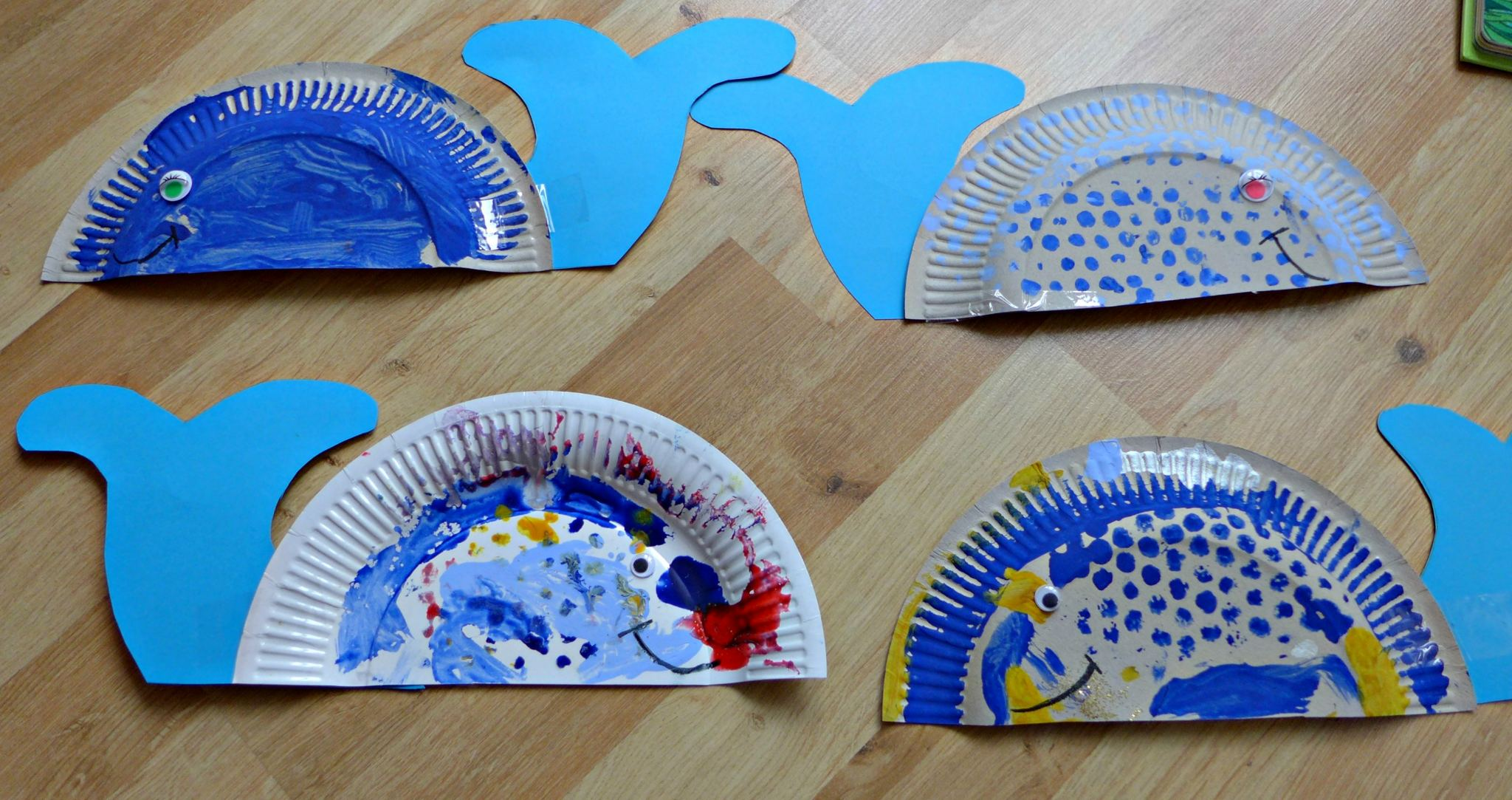 paper plate whale 3 & paper plate whale 3 - Let Them Be Small
