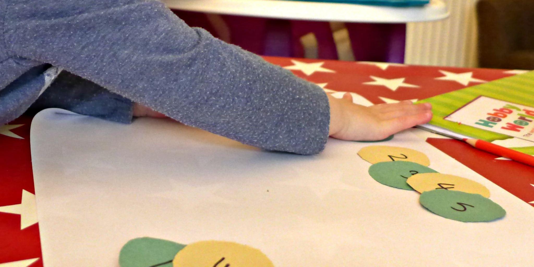 Fun number bond activity for pre schoolers