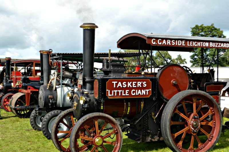 astle park traction engine rally