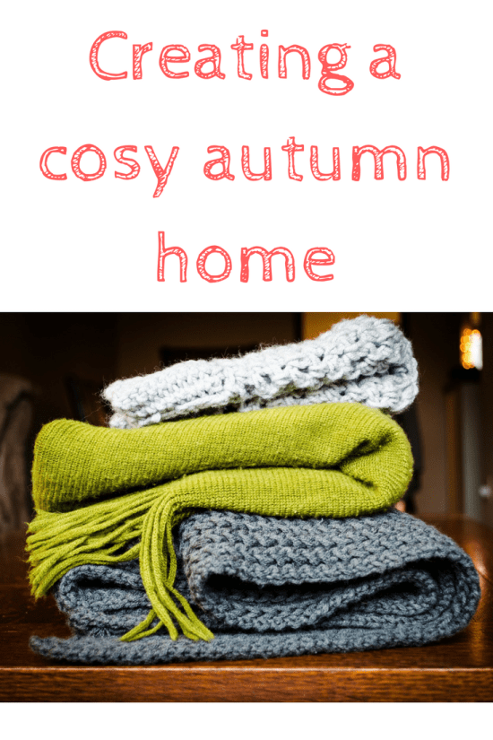 create a cosy autumn home