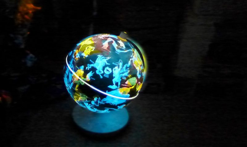 Smart Globe night time