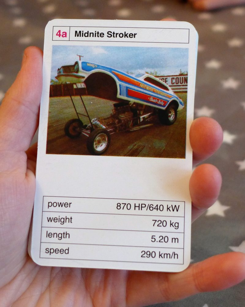 Retro Top Trumps