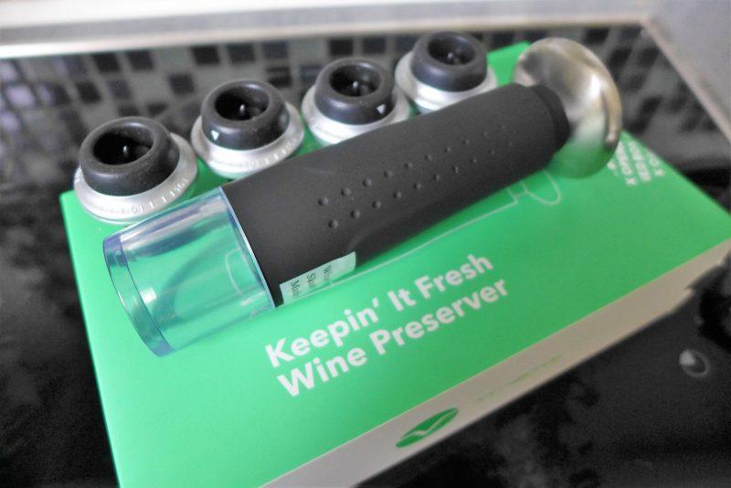 vremi wine preserver