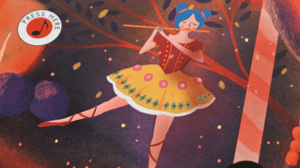 image from the story orchestra The nutcracker book