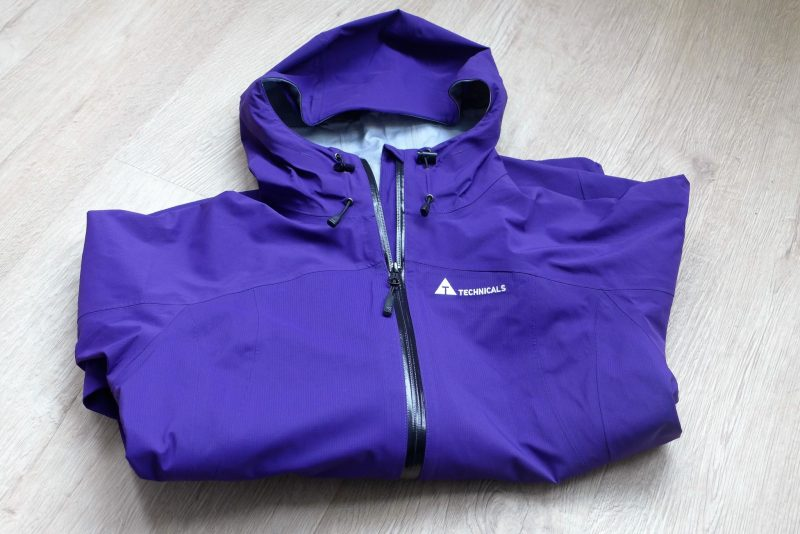 purple ladies technicals coat from Blacks