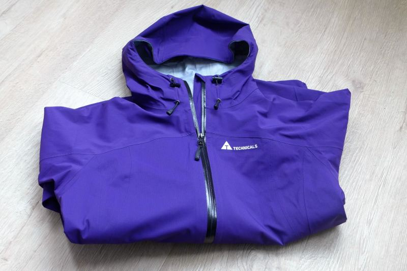 purple ladies technicals coat from Blacks