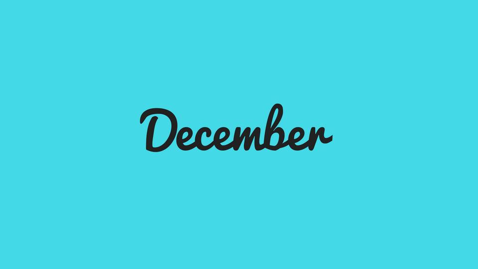 12/12 December