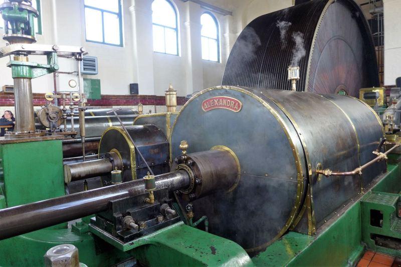 Alexandra Steam Engine at ellenroad engine house