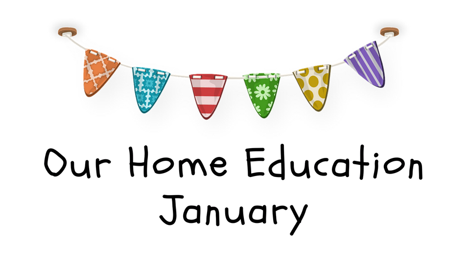 Our Home Education in January