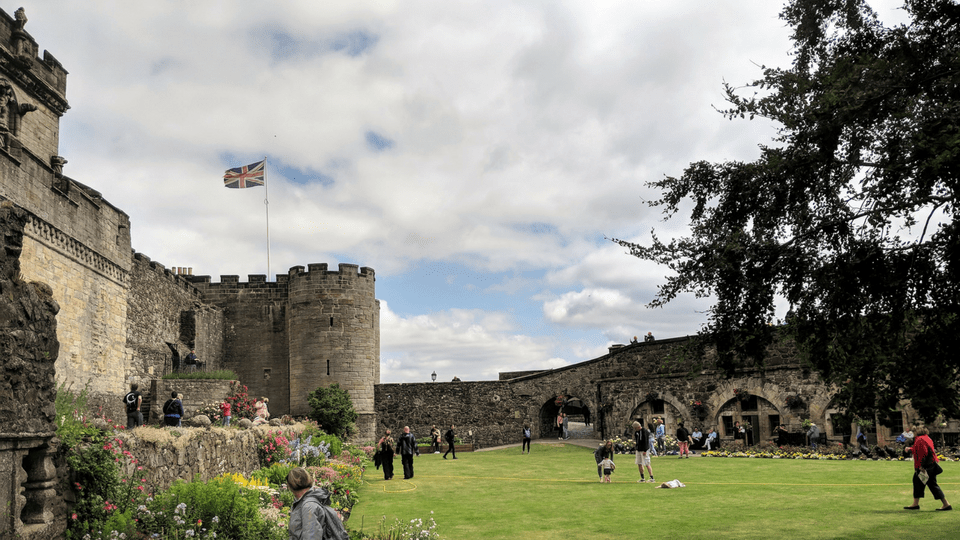 A Family trip to Stirling Castle