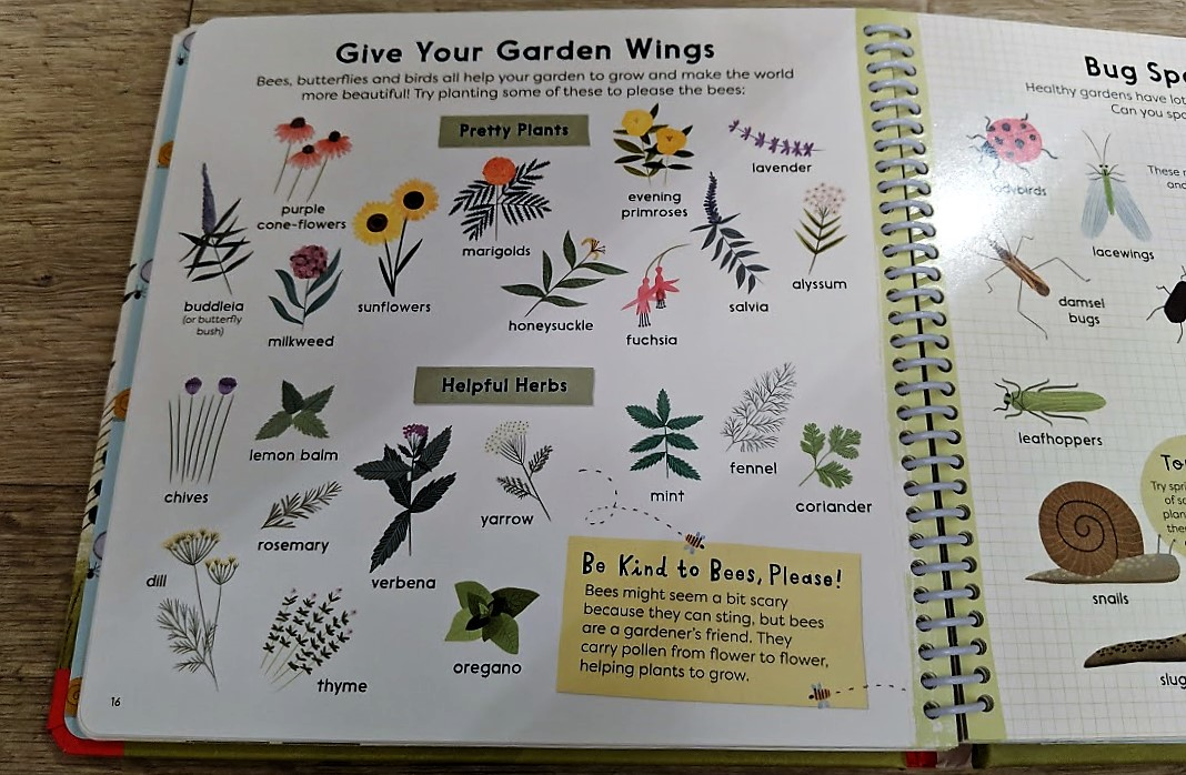 Sunflower, Shoots and muddy boots book