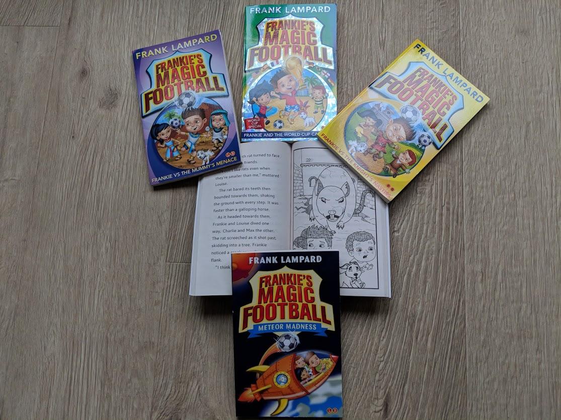 frankie's magic football books