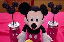 Mickey Mouse Birthday Party Eat Pops