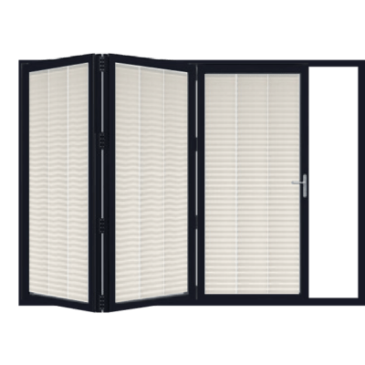 bi fold 3 door blinds