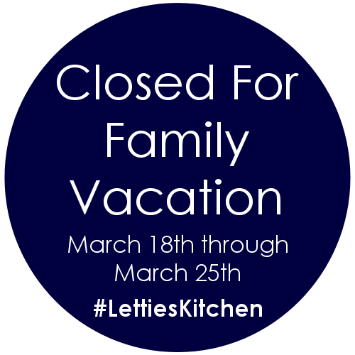 Closed for Family Vacation 2017
