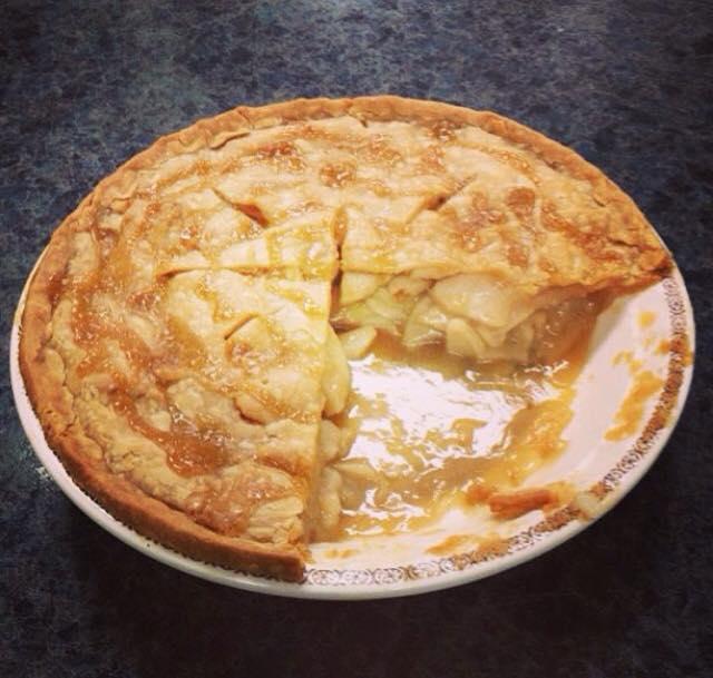 Apple Pie at Letties Kitchen