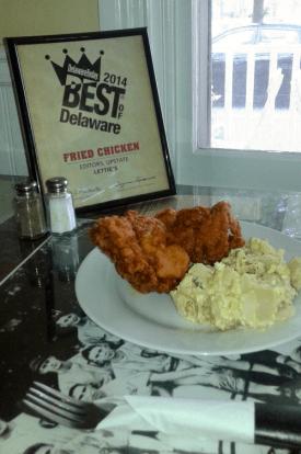 Best Fried Chicken in Delaware at Letties Kitchen