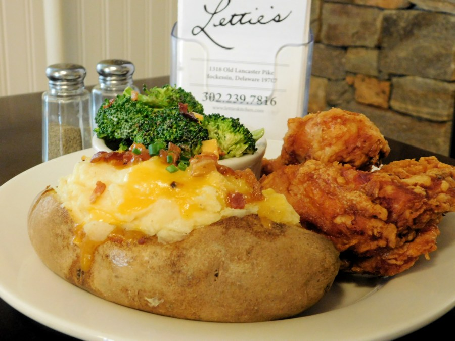 Fried Chicken and Twice Baked Potato in Delaware