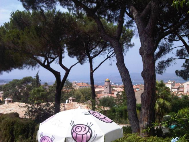 Views of the Citadel and sea-view from the Ermitage...