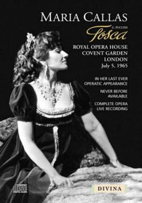 Maria Callas in Tosca...