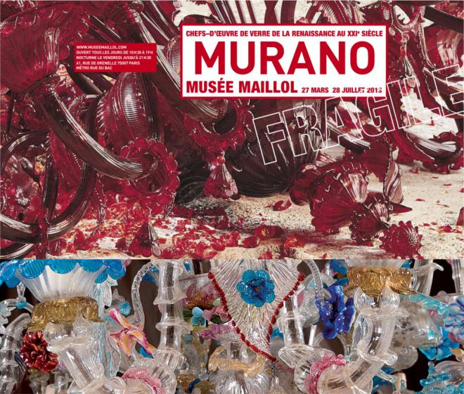 "The ""Murano Fragile"" exhibition at the Musée Maillol..."